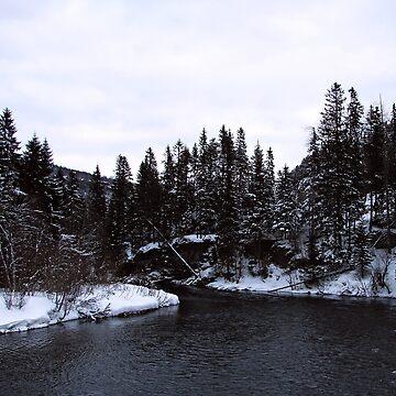 Winter River by svehex
