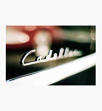 Classic Cadillac Photographic Print