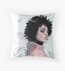 SHADOW by Elena Garnu Throw Pillow