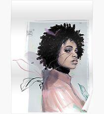 SHADOW by Elena Garnu Poster