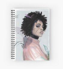 SHADOW by Elena Garnu Spiral Notebook