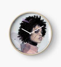 SHADOW by Elena Garnu Clock