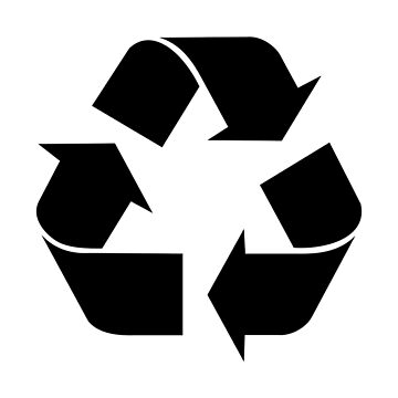 Recycling Symbol by Symbolical