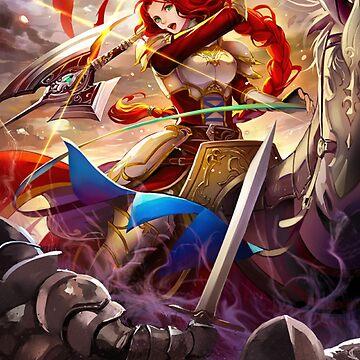 Titania - Fire Emblem Cipher by Toshiyena