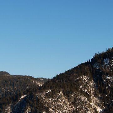 Mountain Skyline by svehex