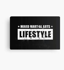MMA Lifestyle Brand Canvas Print
