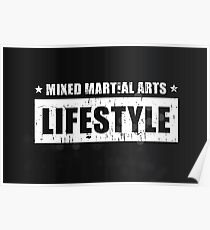 MMA Lifestyle Brand Poster