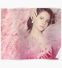 Pink Lana Del Rey Glamour Poster