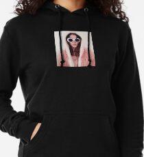 Girl with Cobain Sunglasses Lightweight Hoodie