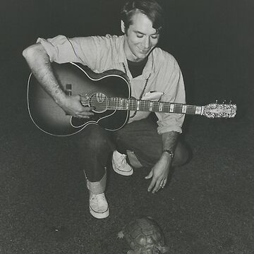 John Fahey with a turtle by nodeeperblue
