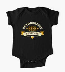 Oktoberfest Beer Festival One Piece - Short Sleeve
