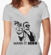 Mark It Zero Women's Fitted V-Neck T-Shirt