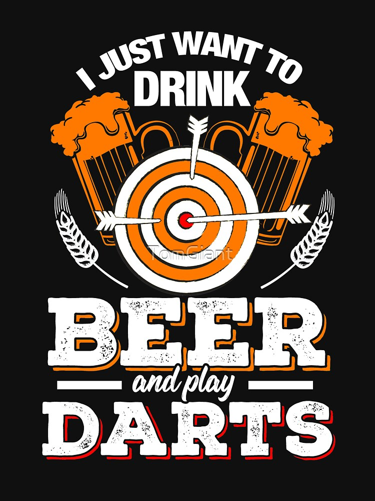 Beer and Darts - Gift - Shirt by TomGiant