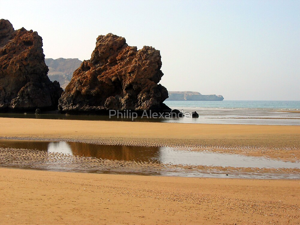 Omani coast by Philip Alexander
