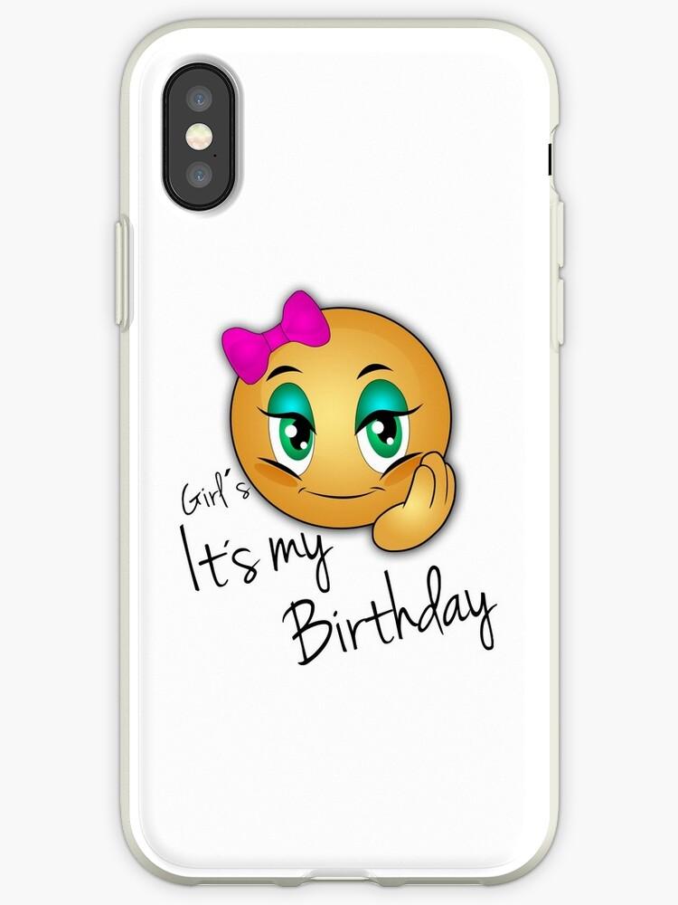 Birthday Little Girl Emoji By Delpieroo