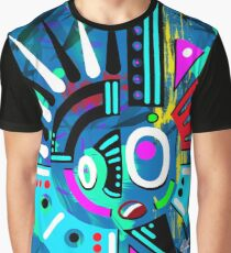 Technoghost abstract Graphic T-Shirt