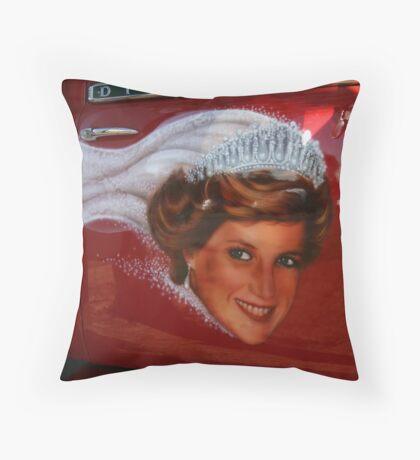 Dianna Highway Princess #2 Throw Pillow