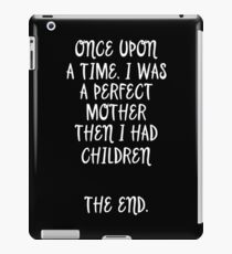 Once upon a time.   iPad Case/Skin