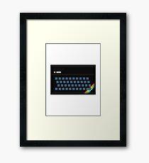 ZX Spectrum 16/48K Framed Print