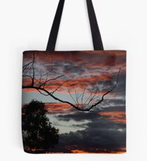 Fire & Sky Tote Bag