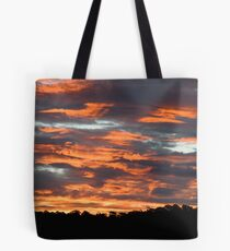 Sky burn Tote Bag
