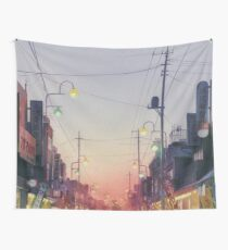 Studio Ghibli Anime Landscape Japan Wall Tapestry