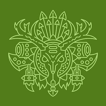 Hunter – Class Crest (color) by dcmjs