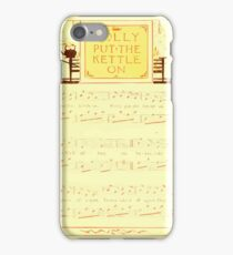 The Baby's Boquet - A Fresh Bunch of Old Rhymes and Tunes - by Walter Crane - 1900-13 Polly Put The Kettle On iPhone Case/Skin