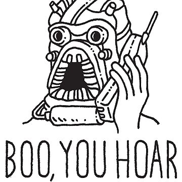 Boo, You Hoar by taylorhicksart