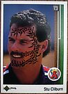 068 - Stu Cliborn by Foob's Baseball Cards