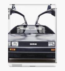 DeLorean Sports Car iPad Case/Skin
