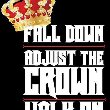 Caer hacia abajo, ajustar la corona, caminar sobre 2 de DanielDesigns