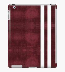 Red Velvet White Stripes iPad Case/Skin