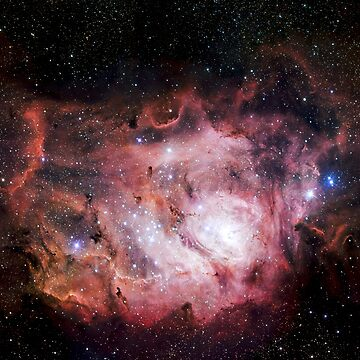 The Lagoon Nebula by CosmicStyles