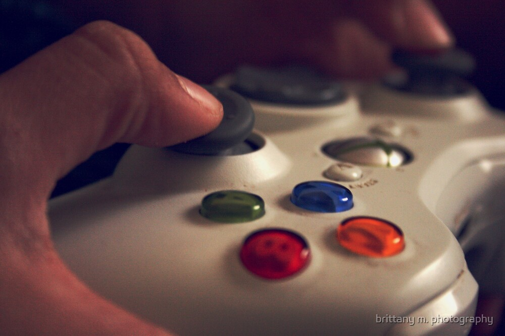 Xbox by brittany m. photography