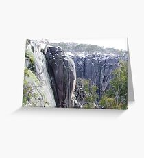 echo point in winter Greeting Card