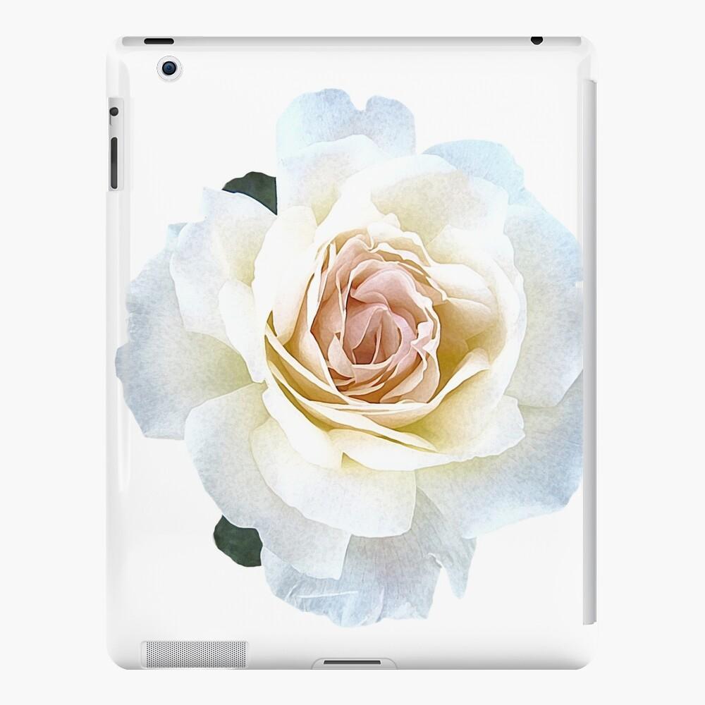 White Rose, Flower Art Print, 8x10, Watercolor Flower, Floral Art Prints, Decoración del hogar, Nursery, Floral Funda y vinilo para iPad