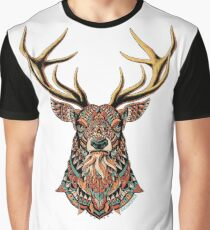 Ornate Buck Graphic T-Shirt