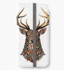 Ornate Buck iPhone Wallet/Case/Skin