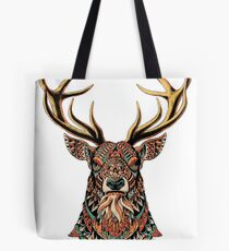 Buck orné Tote bag