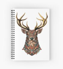 Ornate Buck Spiral Notebook