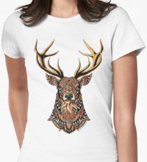 Verzierter Buck Tailliertes T-Shirt