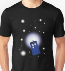 TARDIS In Space Unisex T-Shirt
