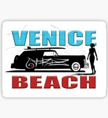 Venice Beach Surf Buggy Sticker