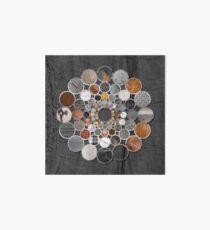 Rustic Geometry II Urban Lodge Mandala Art Board
