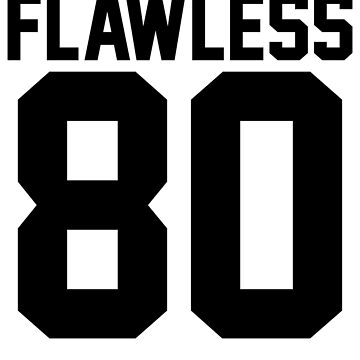 Flawless '80 Jersey (available in all t-shirt types, phone cases and stickers!) by jezzhands