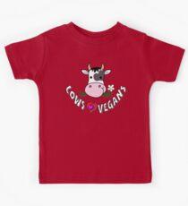 Cows Love Vegans - Happy Cows Kids Tee