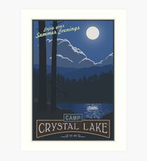 Horrible Summer Camp Art Print