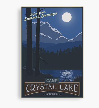 Horrible Summer Camp Canvas Print