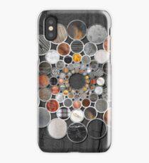 Rustic Geometry II Urban Lodge Mandala iPhone Case